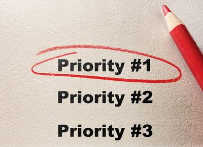 Priority planning