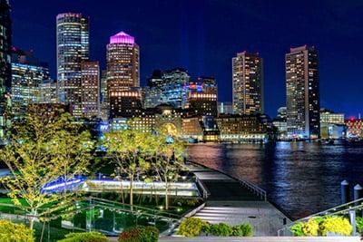 seaport-night